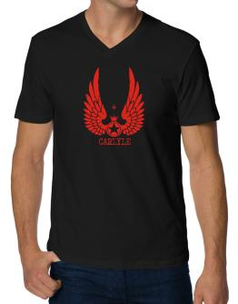 Carlyle - Wings V-Neck T-Shirt