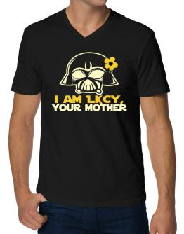 I Am Lucy, Your Mother V-Neck T-Shirt