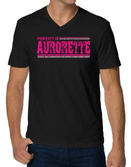 Property Of Aurorette - Vintage V-Neck T-Shirt