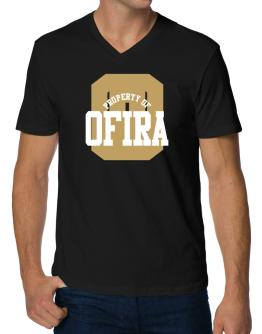 Property Of Ofira V-Neck T-Shirt