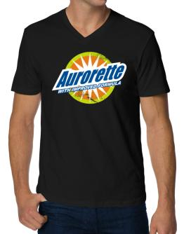 Aurorette - With Improved Formula V-Neck T-Shirt