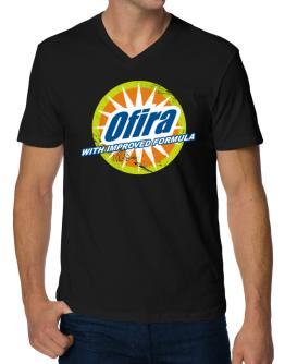 Ofira - With Improved Formula V-Neck T-Shirt