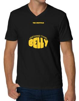 The Dietitian Behind The Belly V-Neck T-Shirt