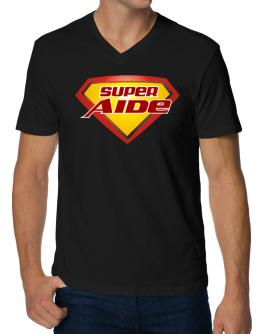 Super Aide V-Neck T-Shirt