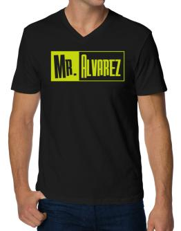 Mr. Alvarez V-Neck T-Shirt