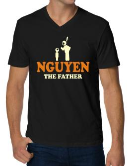 Nguyen The Father V-Neck T-Shirt