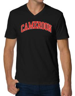 Cameroon - Simple V-Neck T-Shirt