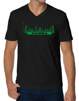 Samba - Equalizer V-Neck T-Shirt