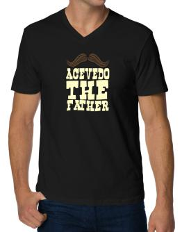 Acevedo, The Father V-Neck T-Shirt