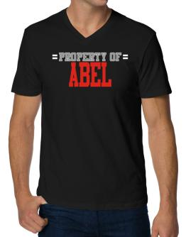 """ Property of Abel "" V-Neck T-Shirt"