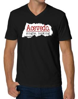 Acevedo, Singe, Looking V-Neck T-Shirt