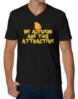We Acevedo Are This Attractive V-Neck T-Shirt