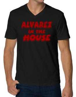 Alvarez In The House V-Neck T-Shirt