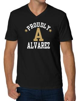 Proudly Alvarez V-Neck T-Shirt