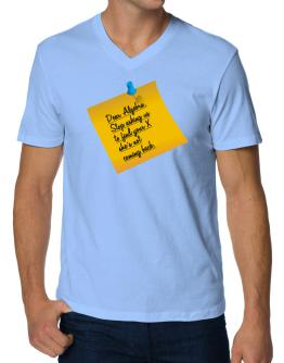 The X is not coming back V-Neck T-Shirt