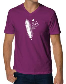Birds of a feather V-Neck T-Shirt