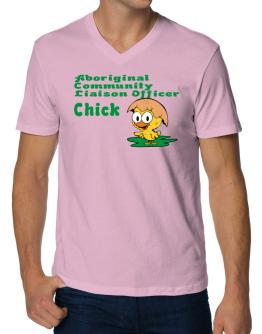 Aboriginal Community Liaison Officer chick V-Neck T-Shirt
