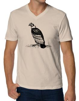Andean Condor sketch V-Neck T-Shirt