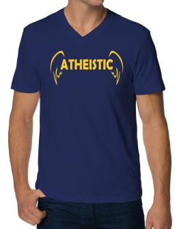 Atheistic - Wings V-Neck T-Shirt