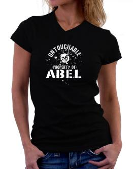 Untouchable : Property Of Abel T-Shirt - V-Neck-Womens