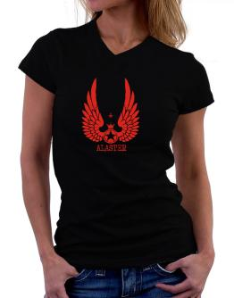 Alaster - Wings T-Shirt - V-Neck-Womens