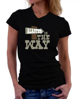 Alaster Is The Way T-Shirt - V-Neck-Womens