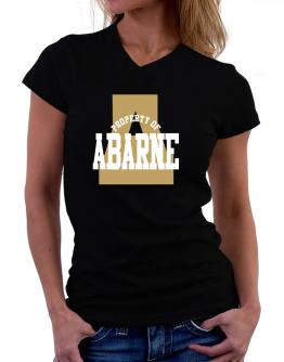 Property Of Abarne T-Shirt - V-Neck-Womens