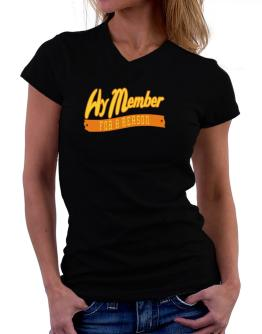 Hy Member For A Reason T-Shirt - V-Neck-Womens