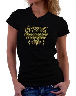 House Of Yahweh T-Shirt - V-Neck-Womens