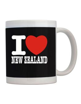 Taza de I Love New Zealand