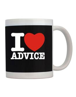 I Love Advice Mug