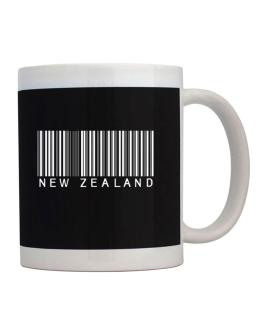 Taza de New Zealand Barcode