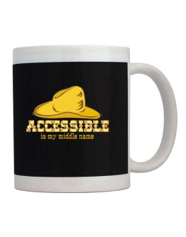 Accessible Is My Middle Name Mug