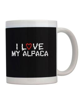 I Love My Alpaca Mug