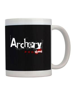 Archery Is In My Blood Mug