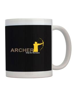 Archery - Only For The Brave Mug