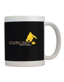 Curling - Only For The Brave Mug