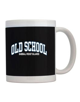 Old School Baseball Pocket Billiards Mug