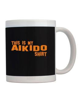This Is My Aikido Shirt Mug