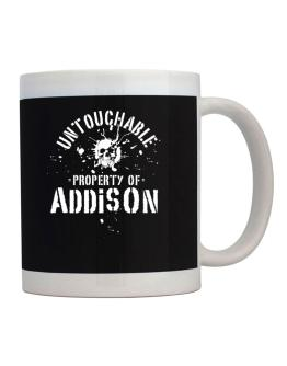 Untouchable : Property Of Addison Mug