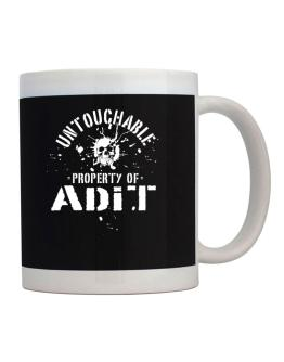 Untouchable : Property Of Adit Mug
