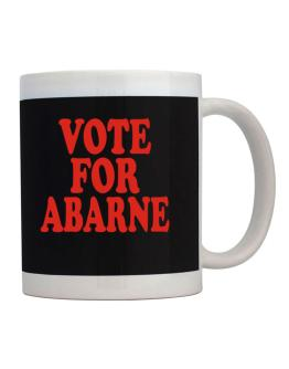 Vote For Abarne Mug