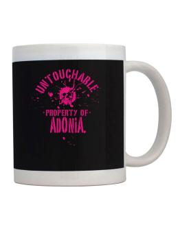 Untouchable Property Of Adonia - Skull Mug