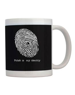 Polish Is My Identity Mug