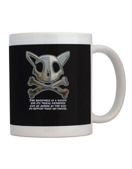 The Greatnes Of A Nation - Egyptian Maus Mug