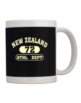 Taza de New Zealand 72 Athl Dept