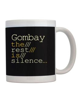 Gombay The Rest Is Silence... Mug