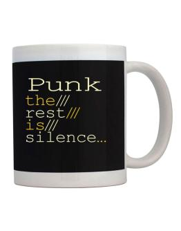 Punk The Rest Is Silence... Mug