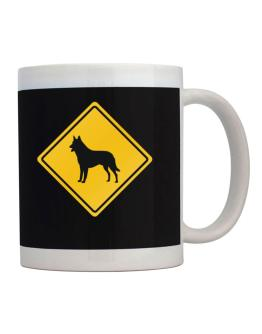 Sign Belgian Malinois - Crossing Sign Mug