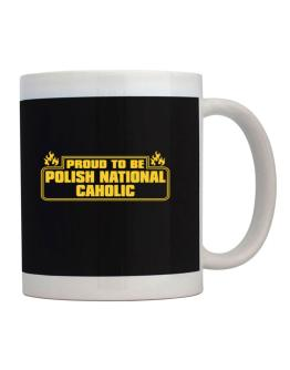 Proud To Be Polish National Caholic Mug